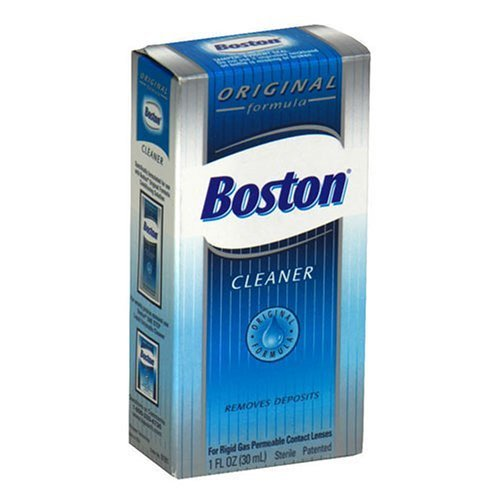 (Boston Cleaner for Rigid Gas Permeable Contact Lenses, Original Formula, 1oz - Buy Packs and Save (Pack of 3))