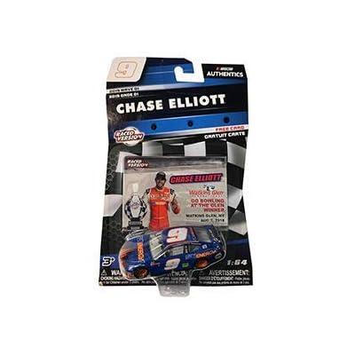 NASCAR Watkins Glen Go Bowling 400 1st Cup Win 2020 Wave 1 Chase Elliott #9 Sun Energy SunEnergy1 Paint Scheme 1/64 Scale Diecast Authentics with Collector Card: Toys & Games