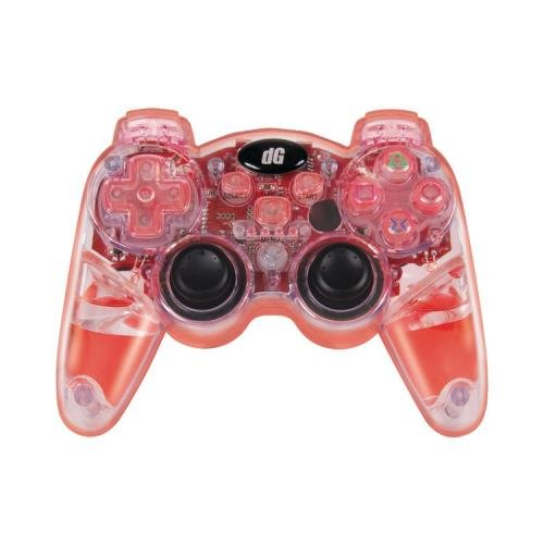 Dreamgear Dgps3-3831 Playstation(R) 3 Lava Glow Wireless Controller (Red) ()