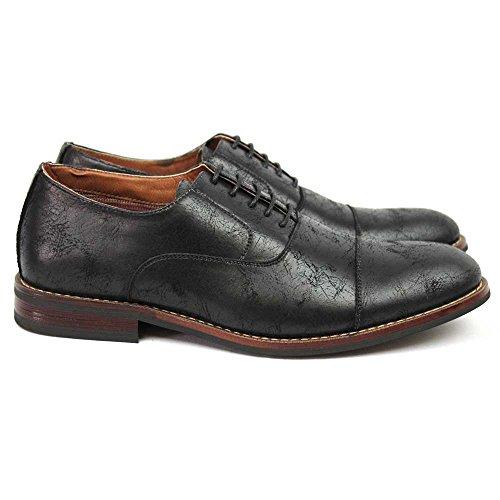 Ferro Aldo New Mens Cap Toe Moderno Stringato Oxford 19515 Nero