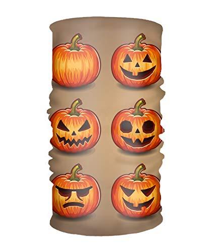 (Unisex Men Women Halloween Pumpkins Bandana Headband Outdoor Daily Yoga Magic Headscarf Multifunctional UV Protection)