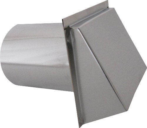 (Speedi-Products SM-RWVD 8 Wall Vent Hood with Spring Damper,)