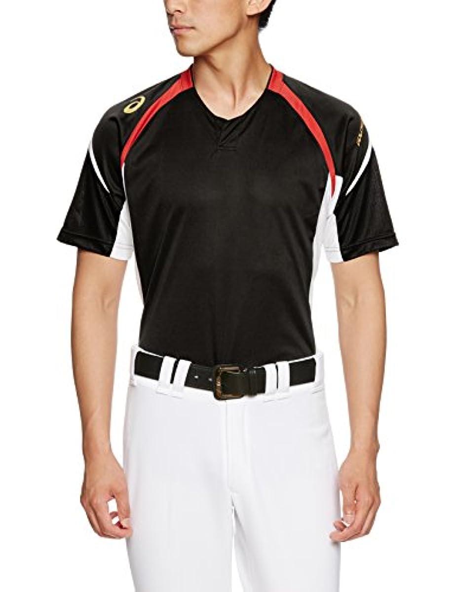 [해외] 아식스ASICS 야구 골드 스테이지프랙티스Practice 셔츠 BAD102