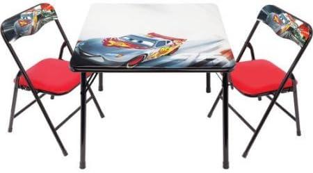 Disney Cars borrable actividad mesa Set con 3 marcadores: Amazon ...
