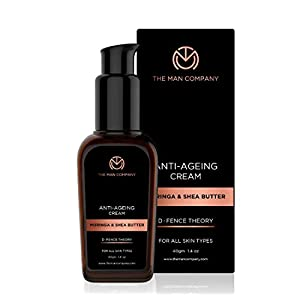 The Man Company Anti Ageing Anti Wrinkle Night Cream For Men – 40 Gm | Made in India