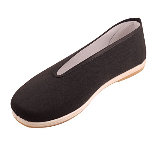 Jingshunxiang Traditional S00033 Chinese Beijing Round Closure Kungfu Shoes,41