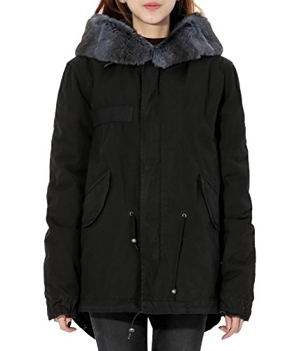 wiberlux-mr-and-mrs-italy-womens-fur-lined-field-jacket-fur-trimmed-hood-s-black