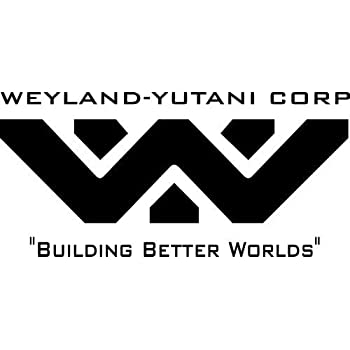 Amazon Com Weyland Yutani Corporation Pvc Sticker Alien