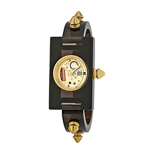 Used, Gucci Champage Dial Ladies Studded Plexiglass Watch for sale  Delivered anywhere in USA
