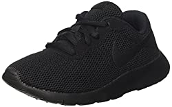 Nike Boy's Tanjun Running Sneaker, Blackblack 12c