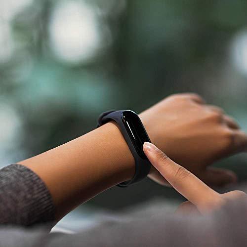 Xiaomi Mi Band 3 - Activity tracker con monitoraggio della frequenza cardiaca [Versione EU], display touch OLED da 0,78