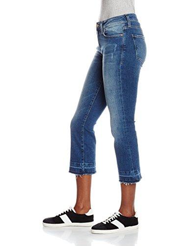 Vintage Bleu Anika Mavi Mid vas Jean Used Femme x8BCnqWUwn