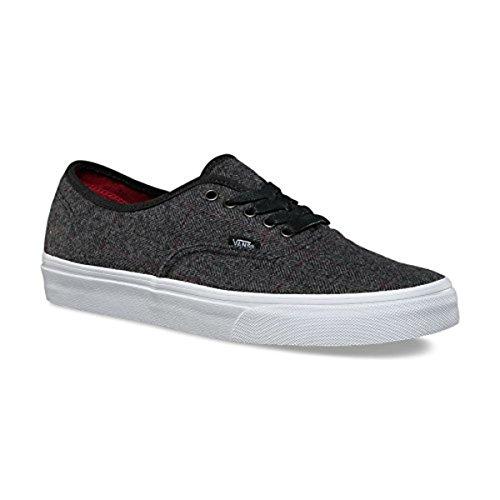 Skåpbilar Autentiska Sneakers Tweed Svart / Sann Vita Mens