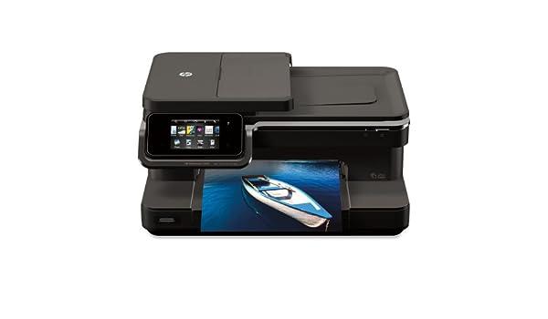 HP Photosmart 7510 - Impresora multifunción (De inyección de ...