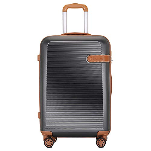 TADYL Luggage Suitcase with 4 Wheels, Expandable Suitcase Lightweight PC+ABS Hard Shell 20