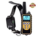 Dog Training Collar Rechargeable and Waterproof Bark Stop Anti No Barking Devices