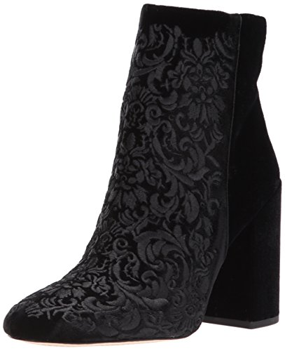 Jessica Simpson Donna Wovella Fashion Boot Nero Velluto