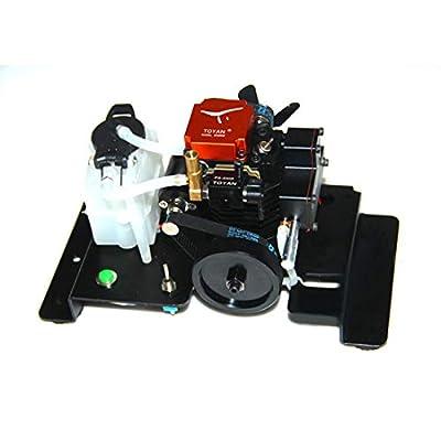 RAVPump Toyan Engine Stand 4 Stroke RC Engine Holder for Toyan FS-S100 / FS-S100G / Toyan FS-S100(W) / FS-S100G(W): Toys & Games