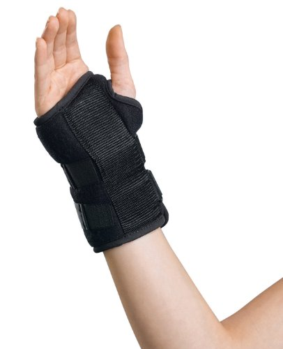 - Curad ORT19000RD24 Universal Wrist Splint, Right