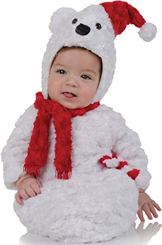 Christmas Polar Bear Bunting Costume - (Christmas Polar Bear Bunting)