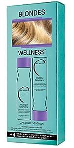 Malibu c Blondes Wellness Kit Shampoo and Conditioner - Plus Weekly Brightener