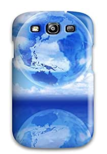 Tough Galaxy Case Cover Case For Galaxy S3 See Through Earth