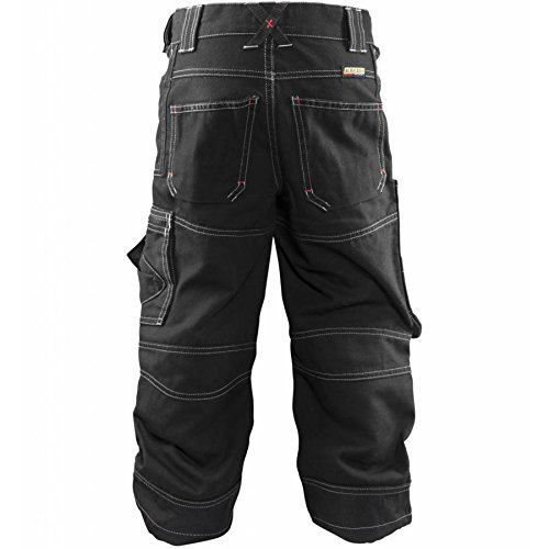 Blaklader 154613109900C152 X1500 Kids Trousers, Size 12T, Black