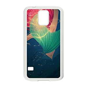 DAZHAHUI Aesthetic mermaid Cell Phone Case for Samsung Galaxy S5