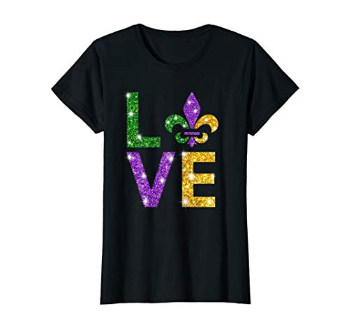 (I Love Mardi Gras T-shirt | Mardi Gras Shirt For)