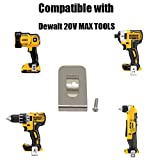 Replacement Bit Holder and Hook Clip for Dewalt 20V Max Drill Tools DCD980 DCD985 DCD980L2 DCD985L2