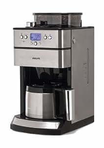 Philips HD7753/00 Grind and Brew - Cafetera por goteo con molinillo (temporizador, jarra térmica)