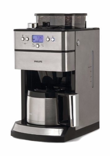 Amazon.de: Philips HD7753/00 Grind Und Brew Mit Timer Und Thermo