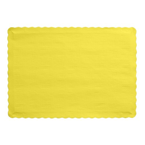 Creative Converting Count Placemats Mimosa
