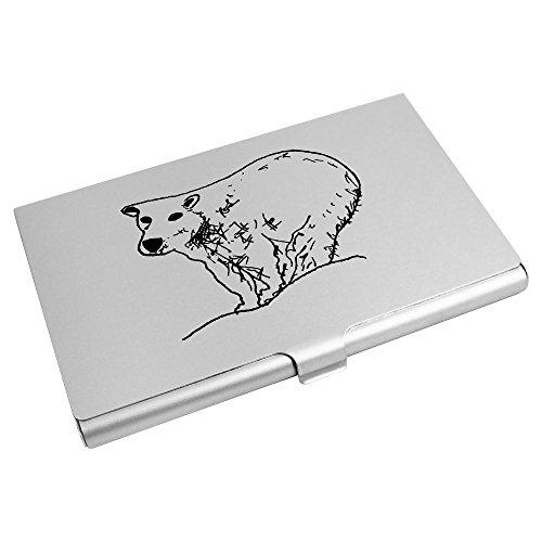 Azeeda CH00009408 Wallet 'Polar Holder Credit Card Business Bear' Card rrBq4R