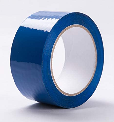 Blue Packing Tape Moving Tape 2 x 110 Yard2.0 mil Thick Heavy Duty (1 Roll)