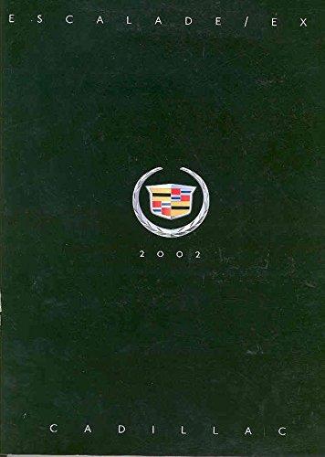 2002 Cadillac Escalade EXT Pickup Prestige Brochure