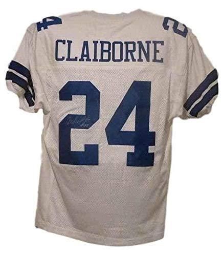- Morris Claiborne Signed Jersey - White Size Xl 10867 - Autographed NFL Jerseys