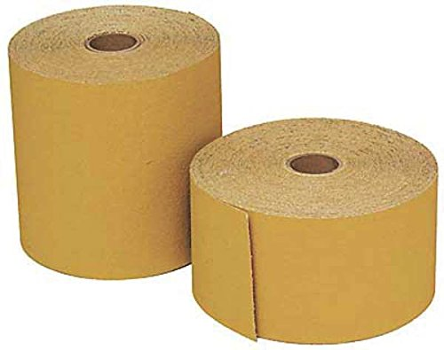 3M 02691 Stikit Gold 4-1/2'' x 25 Yard P320A Grit Sheet Roll