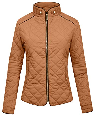 J. LOVNY Womens Lightweight Quilted Warm Zip Jacket/Vest, used for sale  Delivered anywhere in USA