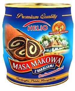 Helio Masa Makowa Poppy Seed Filling Fried Fruits and Honey 900g