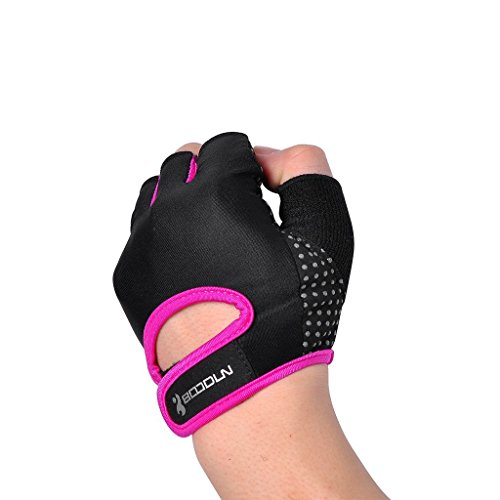 Hompo Ladies Gloves Bodybuilding Fitness Weight Lifting: BOODUN Womens Mens Weight Lifting Gloves For Fitness