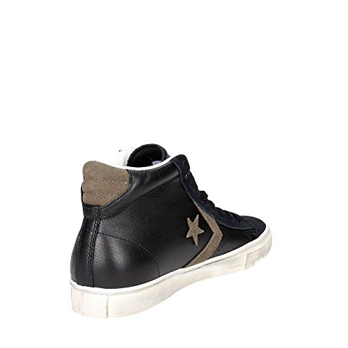 Converse Pro Leather Vulc Distressed Mid herren, wildleder, sneaker high Black/Chocolate Chip