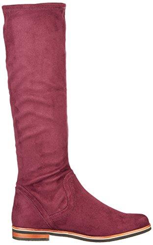 Gril Vrouwen 25507 Boots Rood (bordeaux Stre.)