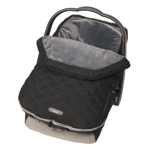 Infant Car Seat Footmuff (JJ Cole Urban Bundleme, Stealth, Infant)