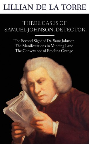 book cover of Three Cases of Samuel Johnson, Detector