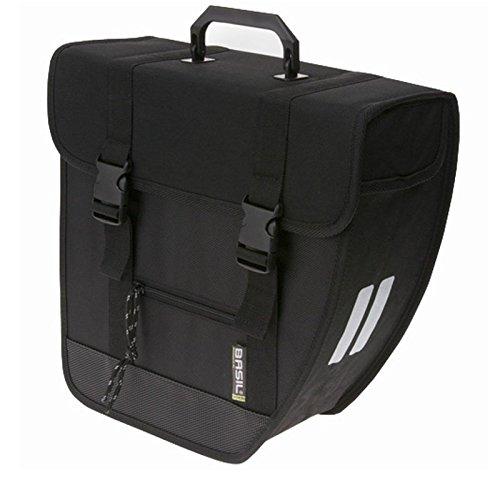 Basil Seitentasche Tour Single schwarz Packtasche Fahrrad Tasche, BaTourSingle, Montage rechts