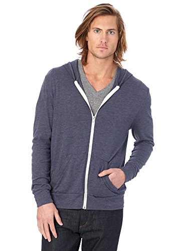alternative-mens-eco-zip-hoodie-sweatshirt-shirt-navy-medium