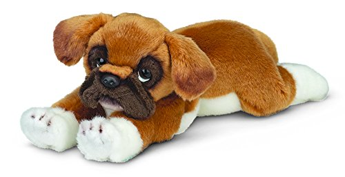 "Bearington Roscoe Boxer Plush Stuffed Animal Puppy Dog 15"" (Plush Stuffed Animal Puppy)"