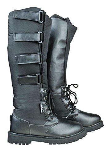 HKM Alaska botas de correr de invierno - negro