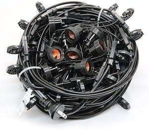 長谷川製作所 CCA320L30P10 提灯コードライトタイプ 30灯 1m間隔